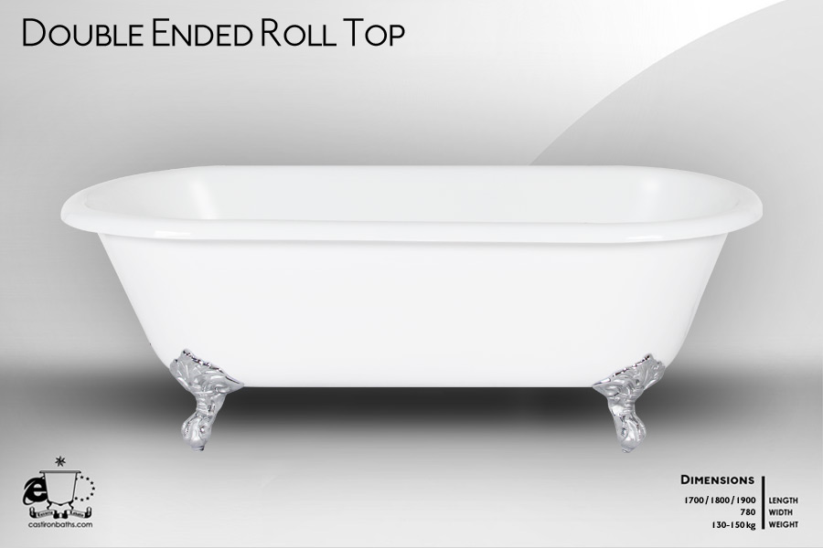 Claw Foot Castiron Baths - Freestanding Bath