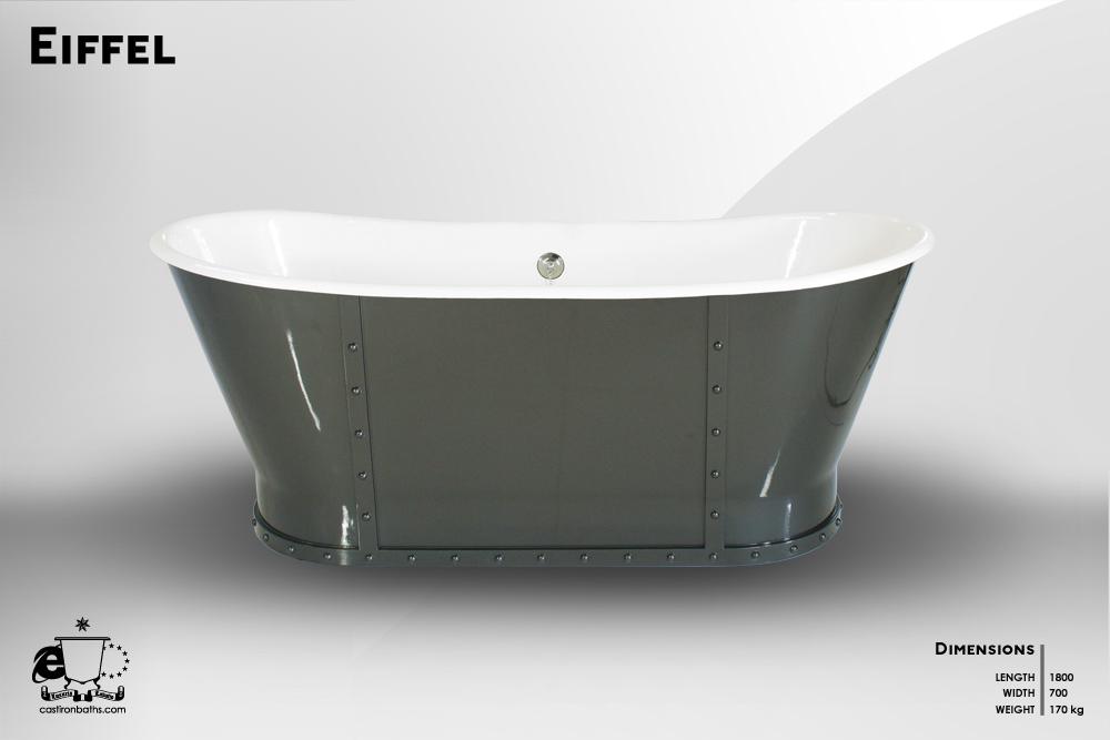 Eiffel - Freestanding Bath [CIB-EIFFEL] - $6,750.00 : Cast Iron ...